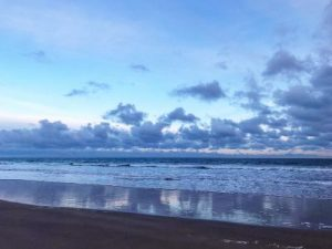 Early morning on Bamburgh Beach