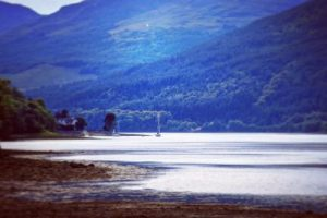 A Wander around Arrochar on the Banks of Loch Long in Argyll & Bute: Looking down Loch Long