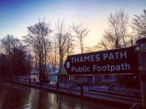 The Thames Path - from Hurley Lock towards Marlow