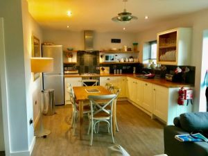 a dog friendly holiday lodge at The Park, Mawgan Porth in Cornwall.